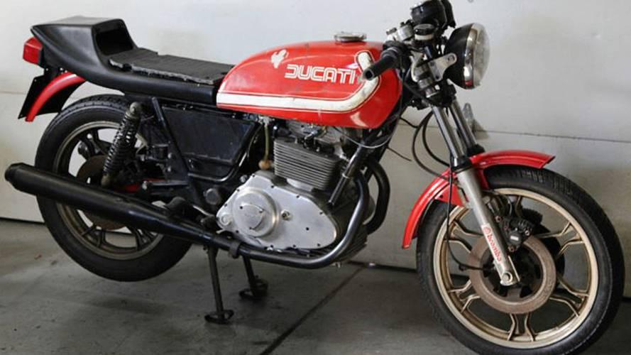 Online Find Ebay Edition – 1977 Ducati Sport Desmo 500