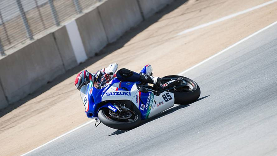 On-Board Video: How to get Around Laguna Seca Raceway, on Jake Lewis' Superbike