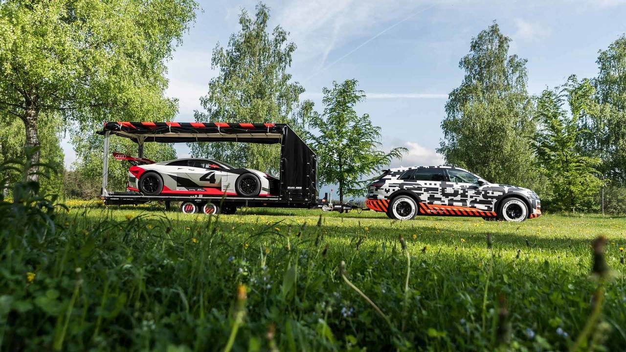 Audi E-Tron Quattro At Worthersee