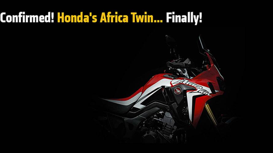 Honda's Africa Twin Confirmed