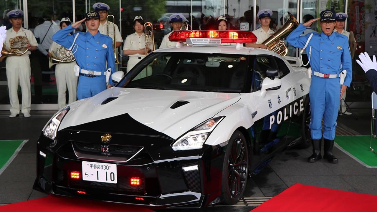 Nissan GT-R Police Japon
