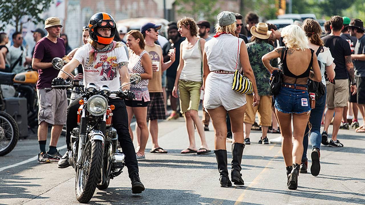 2015 NYC Vintage Motorcyclist Block Party