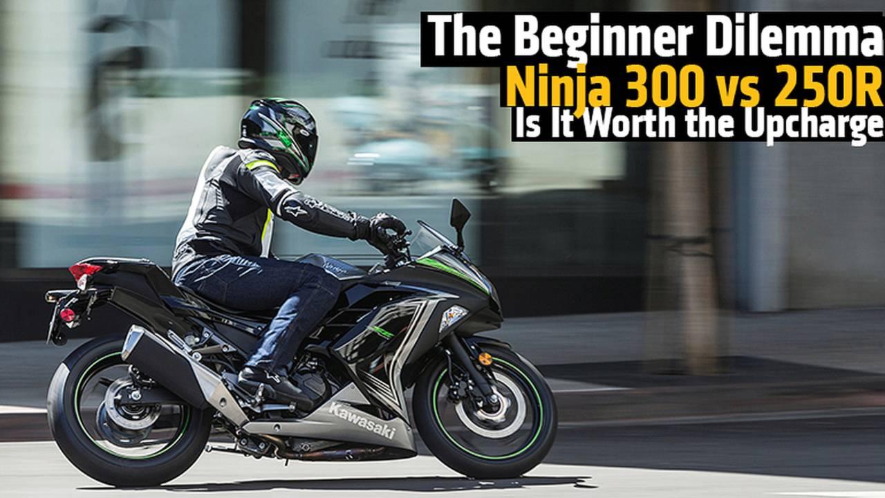 The Beginner Dilemma Ninja 300 Vs 250r