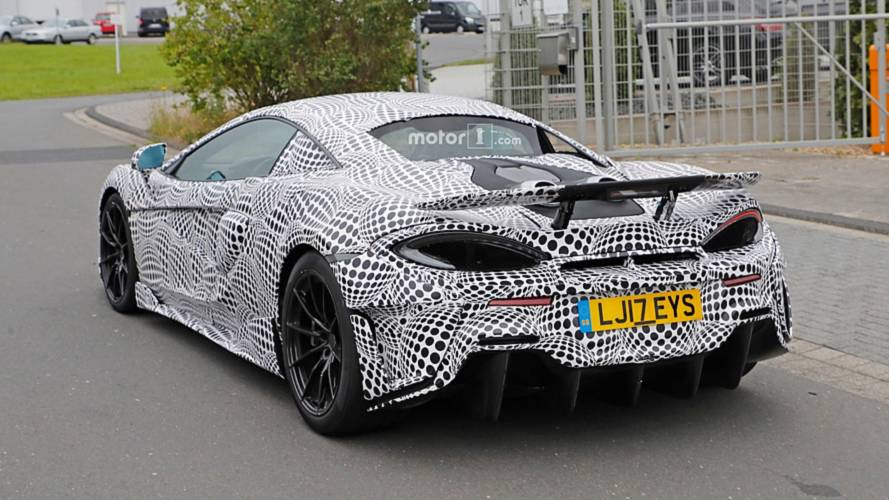 McLaren 600LT Photos espion