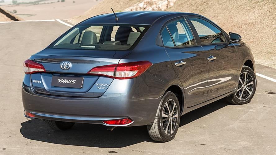 861054dcc9 Toyota Yaris brasileiro começará a ser vendido Argentina em setembro