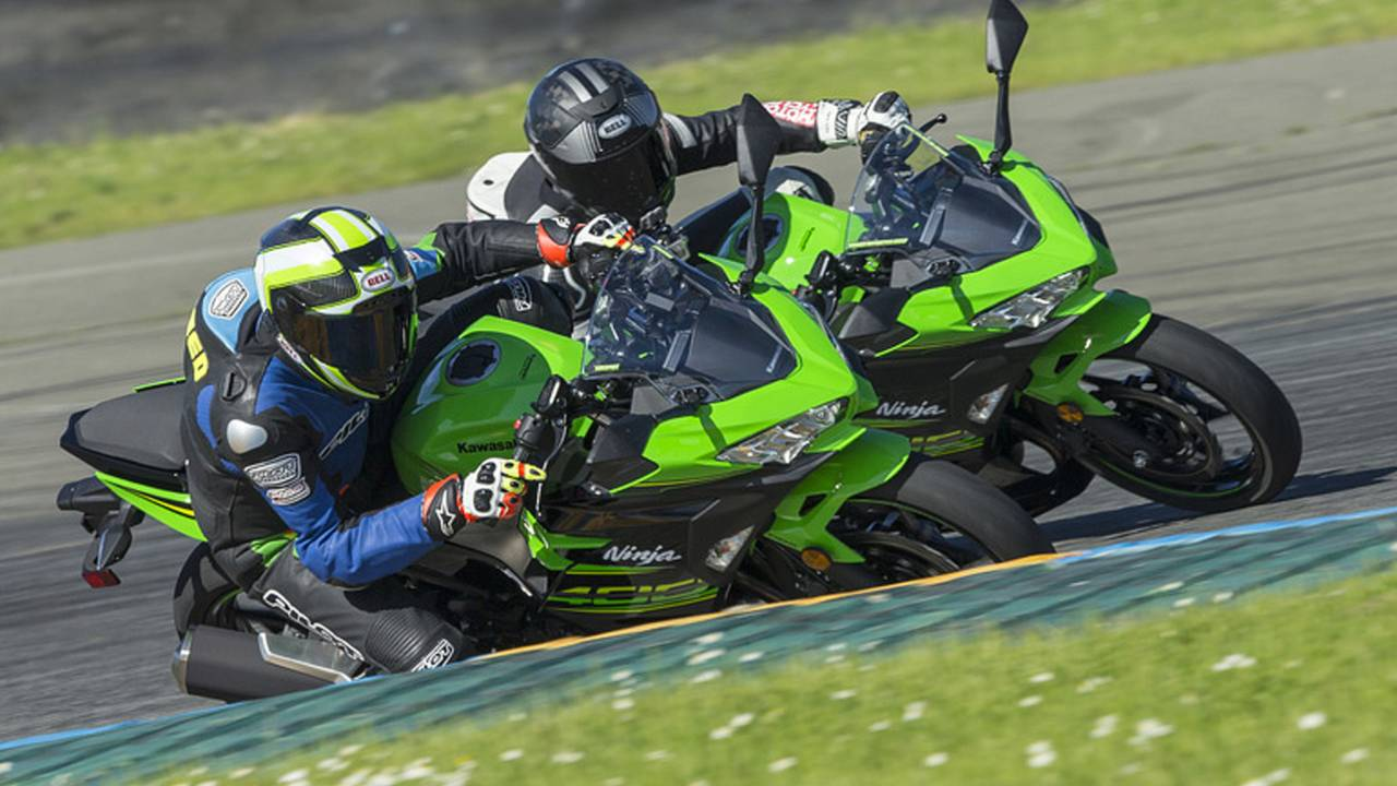 Kawasaki's offering over $500,000 in US race contingency for those who want to speed things up at the track.