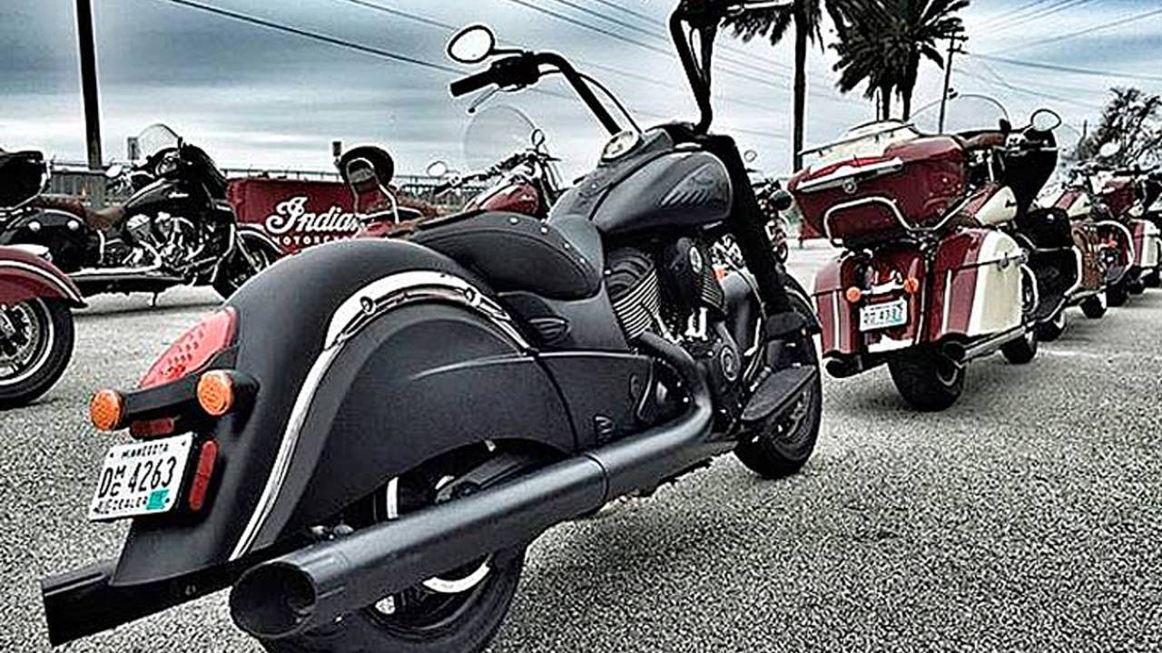 Indian Motorcycle Gears Up for Daytona