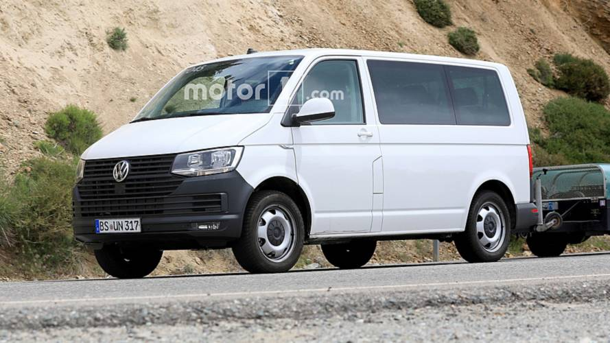 VW Transporter T7 spied: Here's your first look