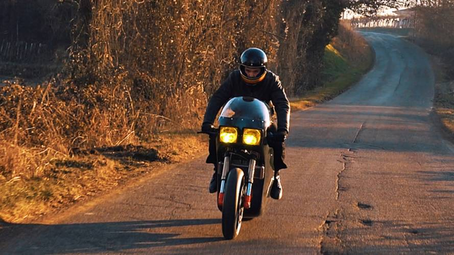 High Voltage Ugly - Energica Midnight Runner Special