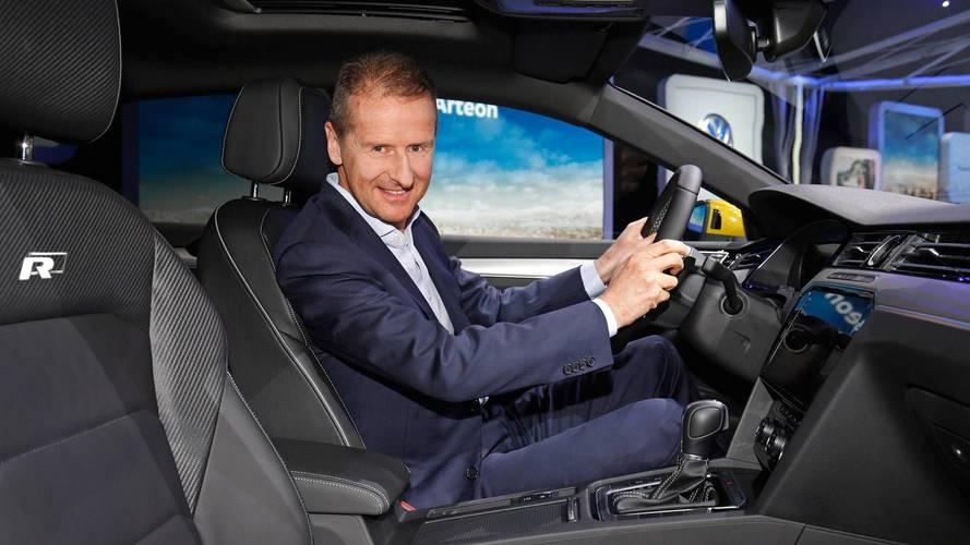 VW boss Herbert Diess
