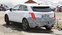 Cadillac XT5 facelift spy photo