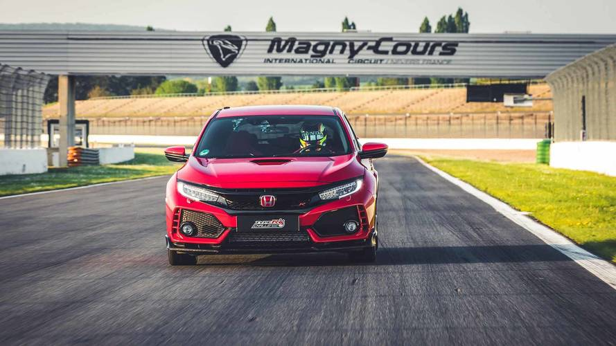 Honda Civic Type R Is Fastest Front-Wheel-Drive Car At Magny-Cours