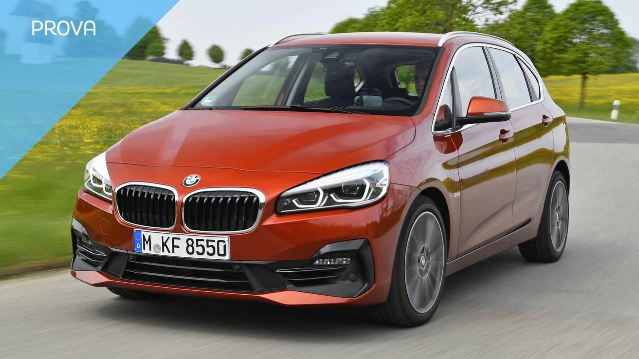 BMW Serie 2 Active Tourer 2018, la prova