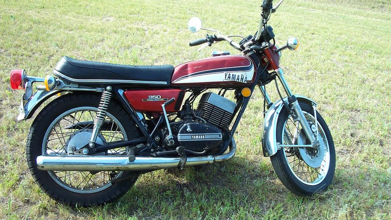 1973 Yamaha RD350