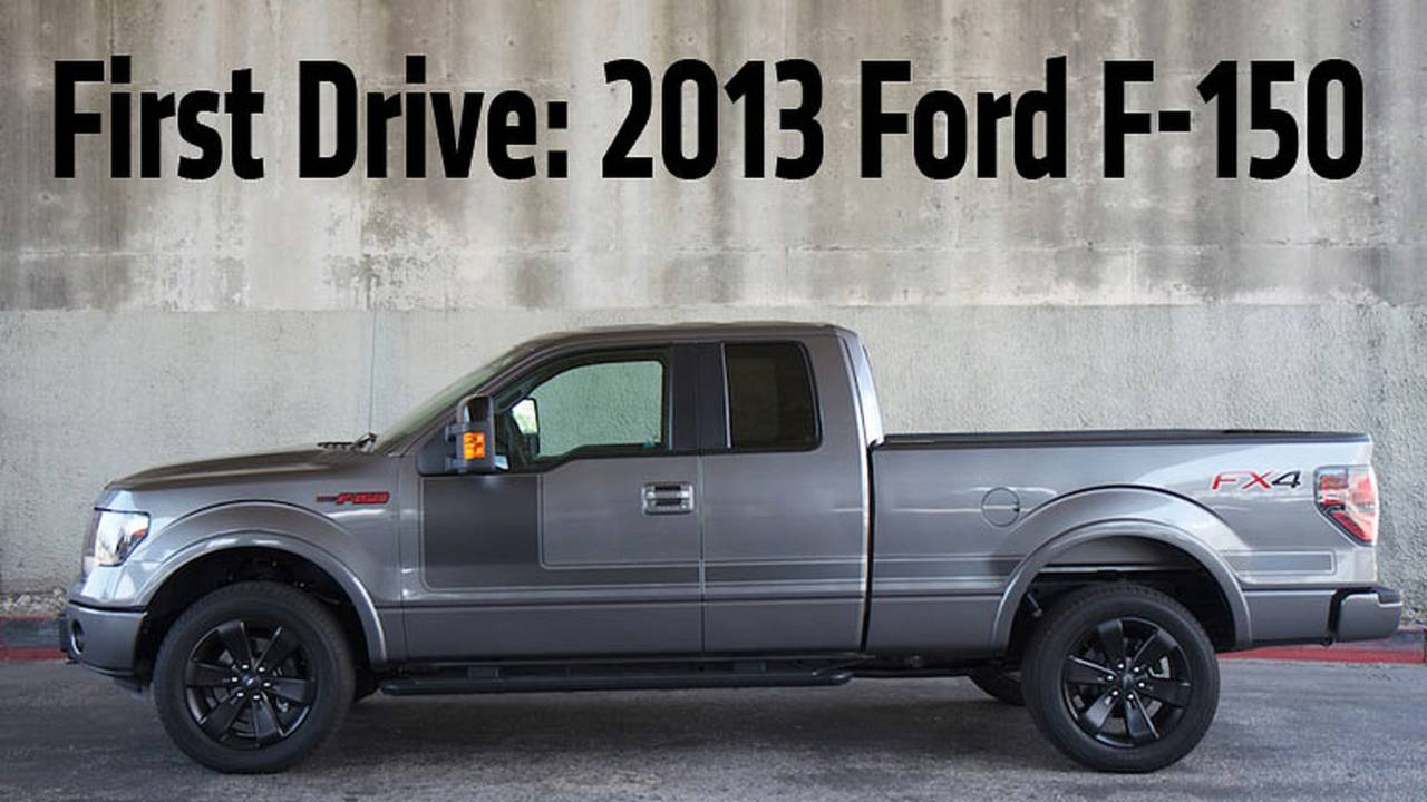 First Drive: 2013 Ford F-150
