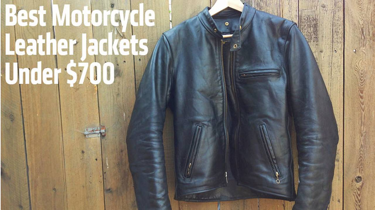 Best Motorcycle Leather Jackets Under $700