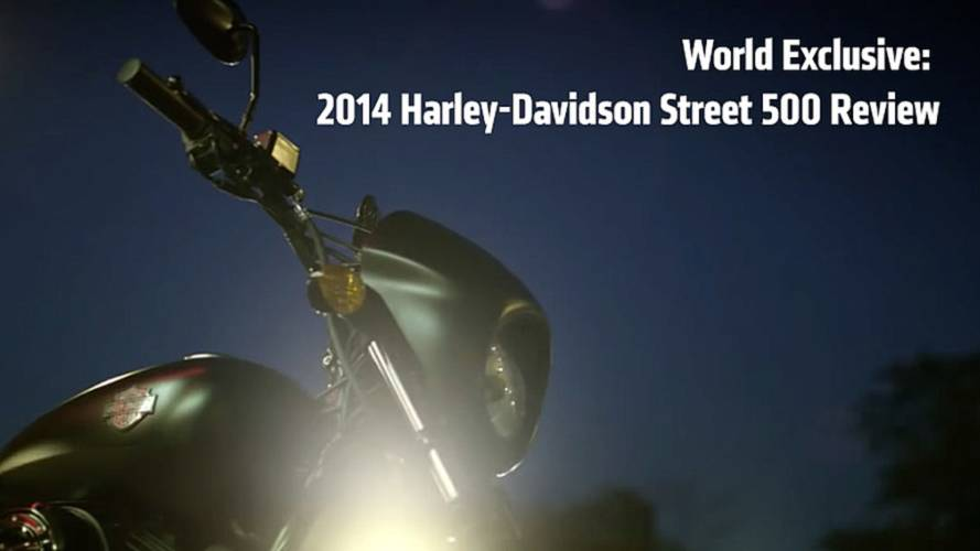 World Exclusive: 2014 Harley-Davidson Street 500 Review