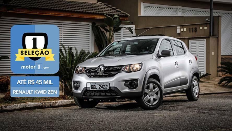 Seleção Motor1.com - Renault Kwid Zen vence categoria até R$ 45 mil