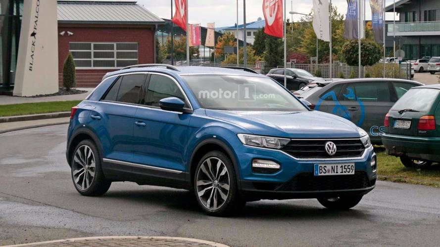 Volkswagen T-Roc R Spy Photos (Test)