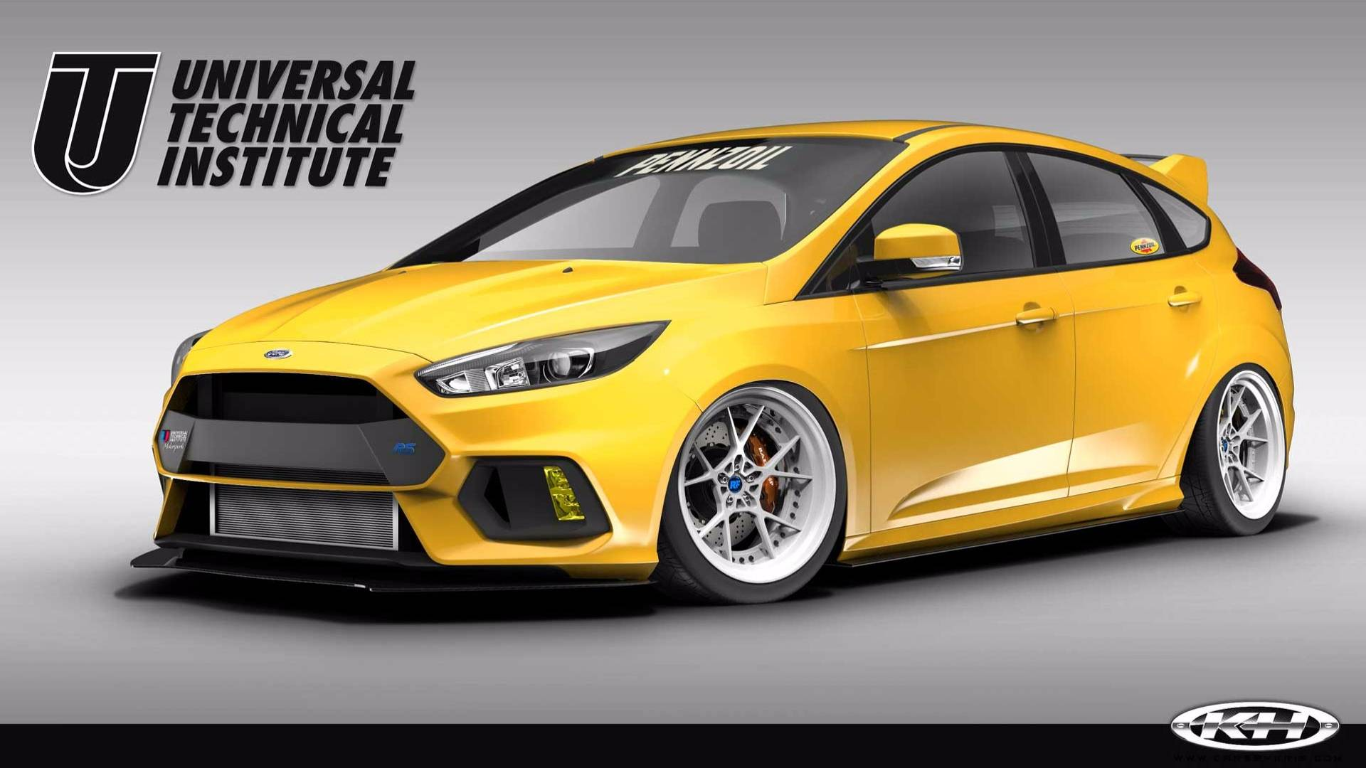 Ford Focus Rs St Models Get Tuner Treatment For Sema Show