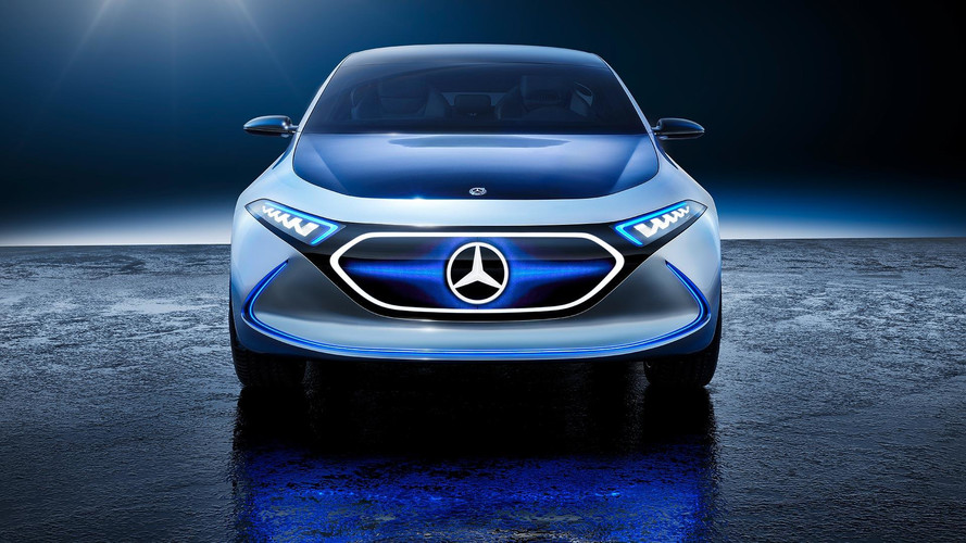 Mercedes EQE electric saloon due 2022 to rival Tesla Model S