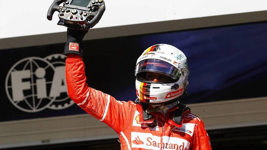 F1 Brazilian GP: Vettel Wins As Hamilton Recovers To Fourth