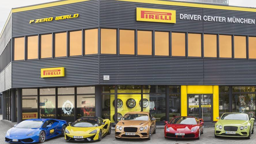 Avrupa'nın ilk Pirelli P Zero World'ü Münih'e açıldı