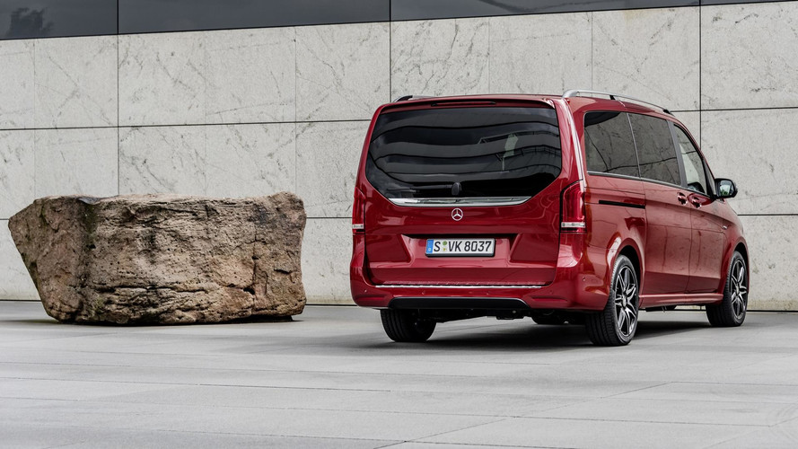 Mercedes V Serisi Limited ve Rise Edition