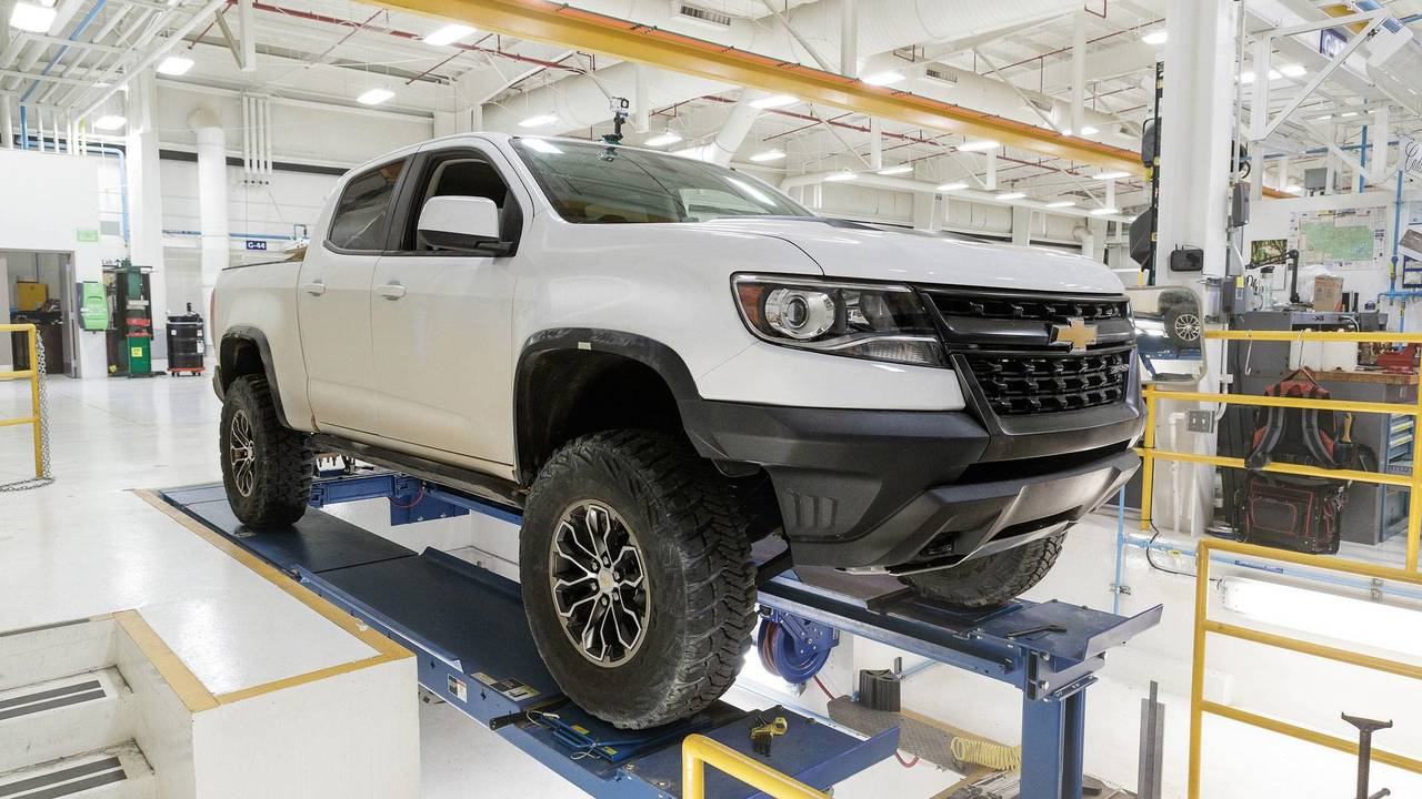 Chevrolet Colorado ZR2 Race Development concept