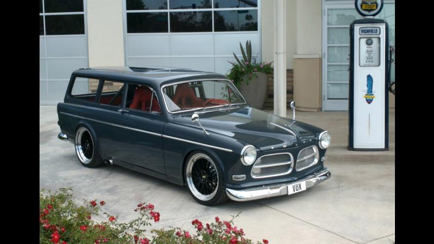Al SEMA con una Volvo Amazon da 600cv!