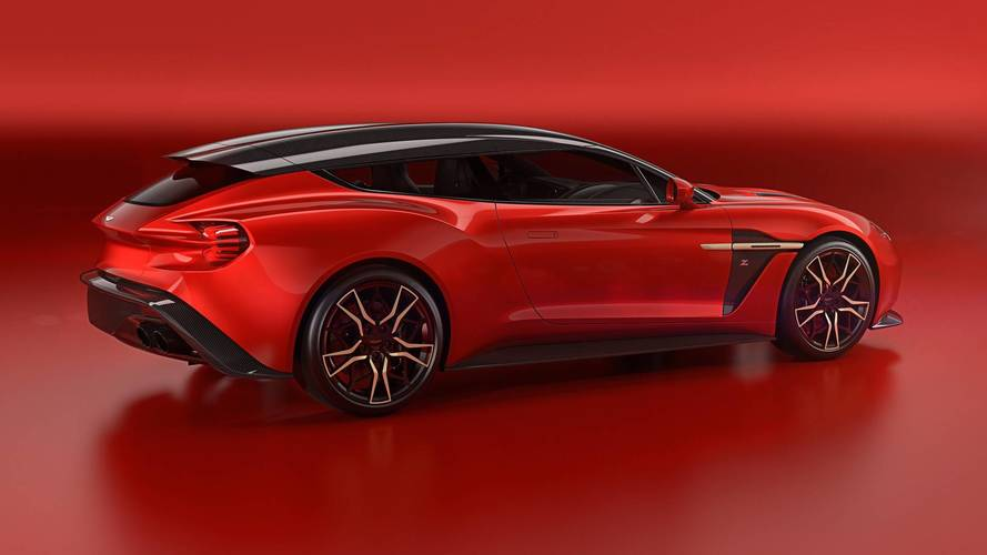 Aston Martin Vanquish Zagato Speedster y Shooting Brake