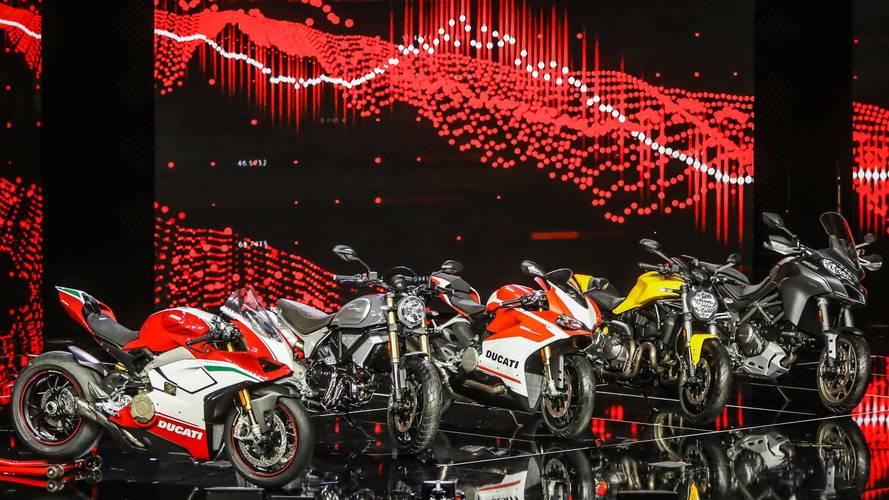 Ducati muestra cuatro novedades para 2018 en el EICMA de Milán