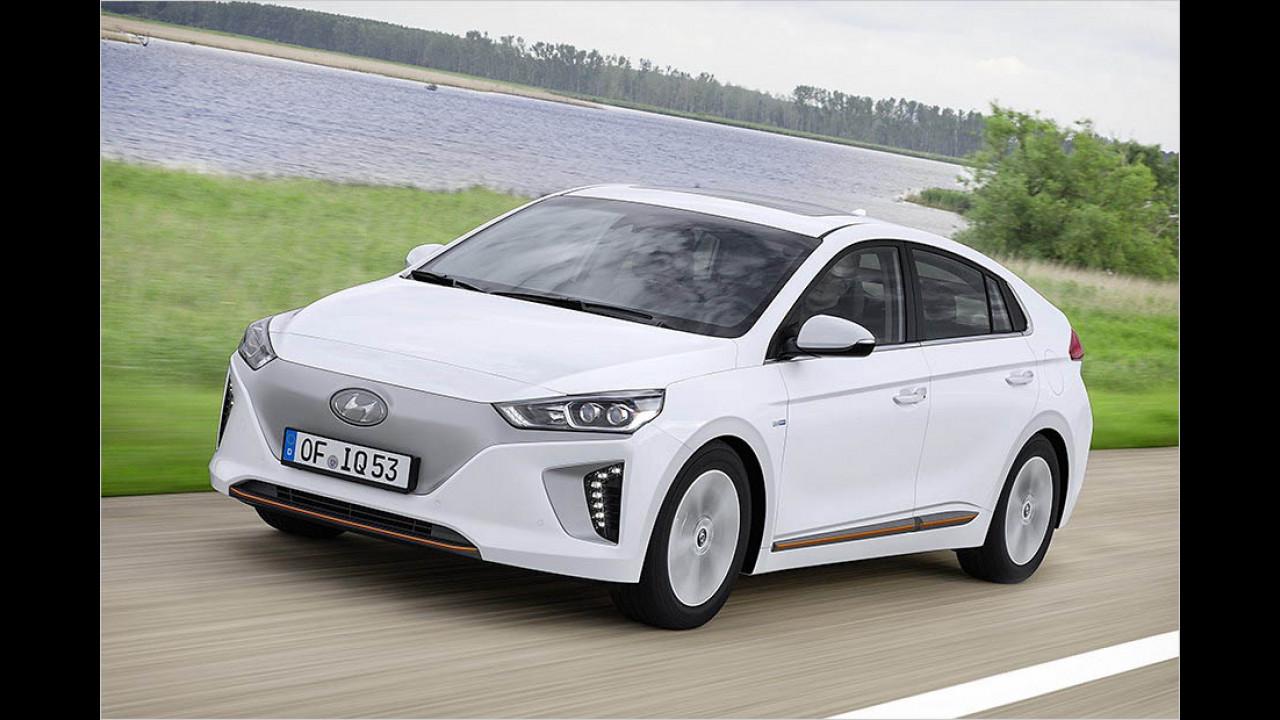 Hyundai Ioniq Elektro: 280 km