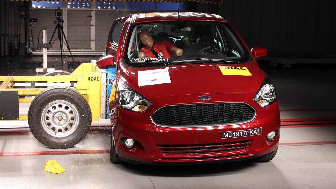 Ford Ka - Impacto lateral
