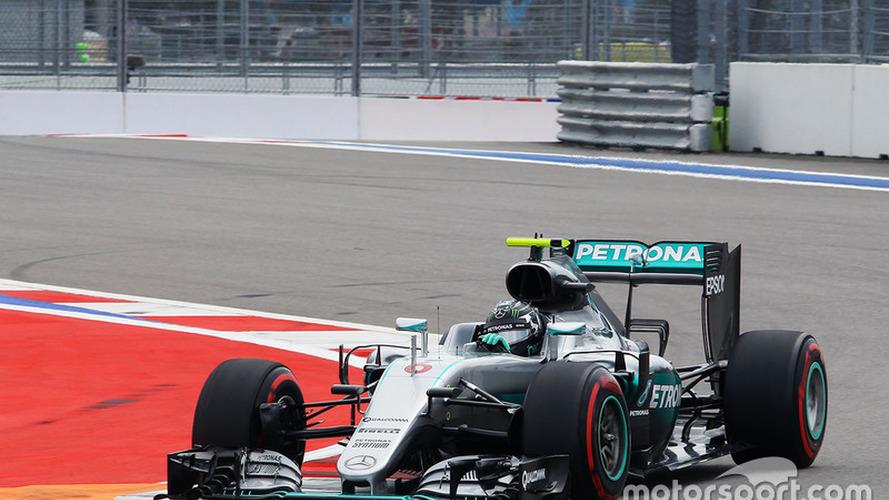 Formula 1 Russian GP qualifying results