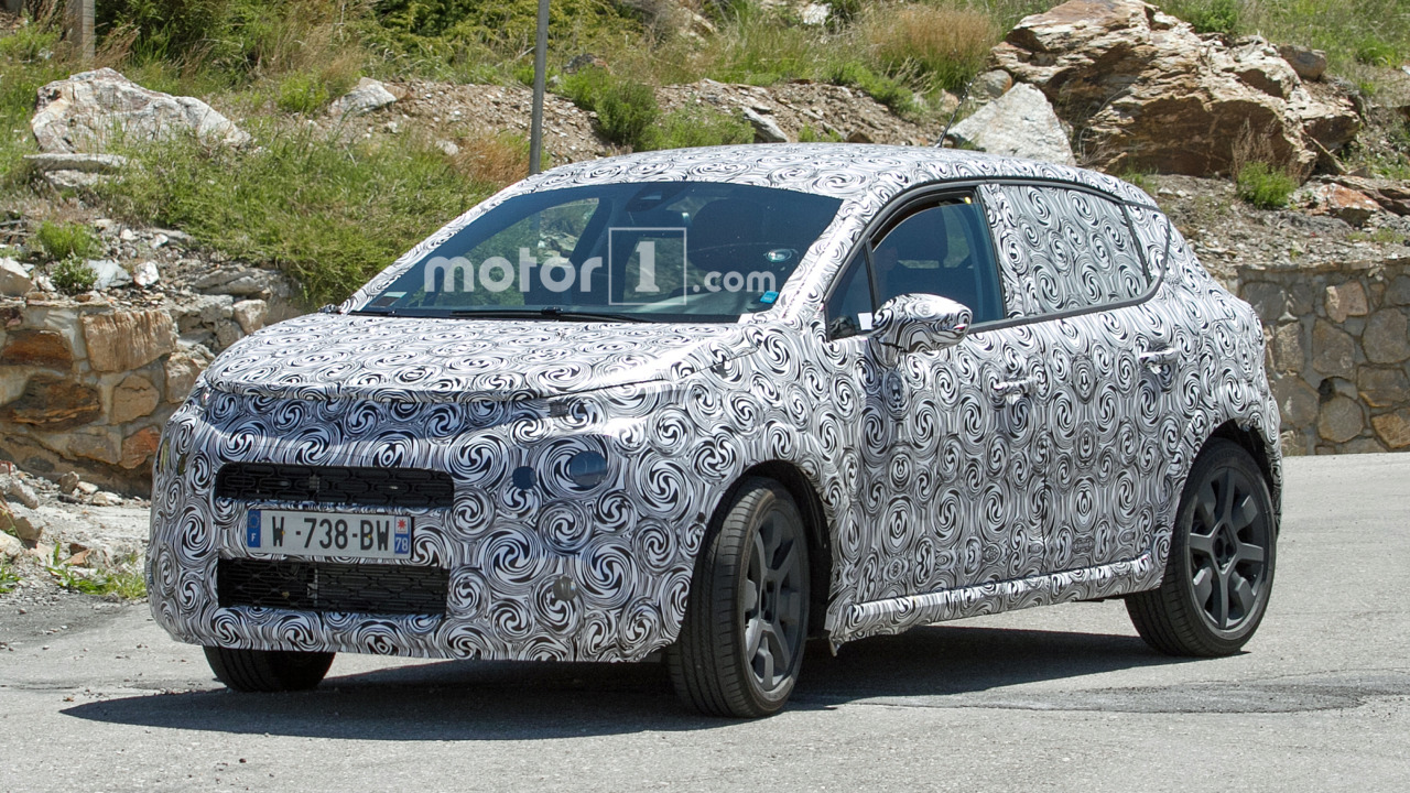 2017 Citroen C3 spy photo