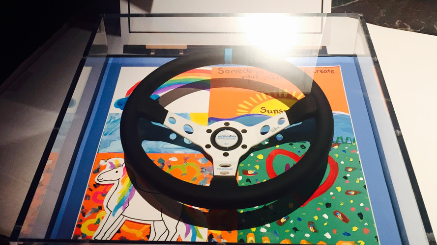 Special edition MOMO steering wheel