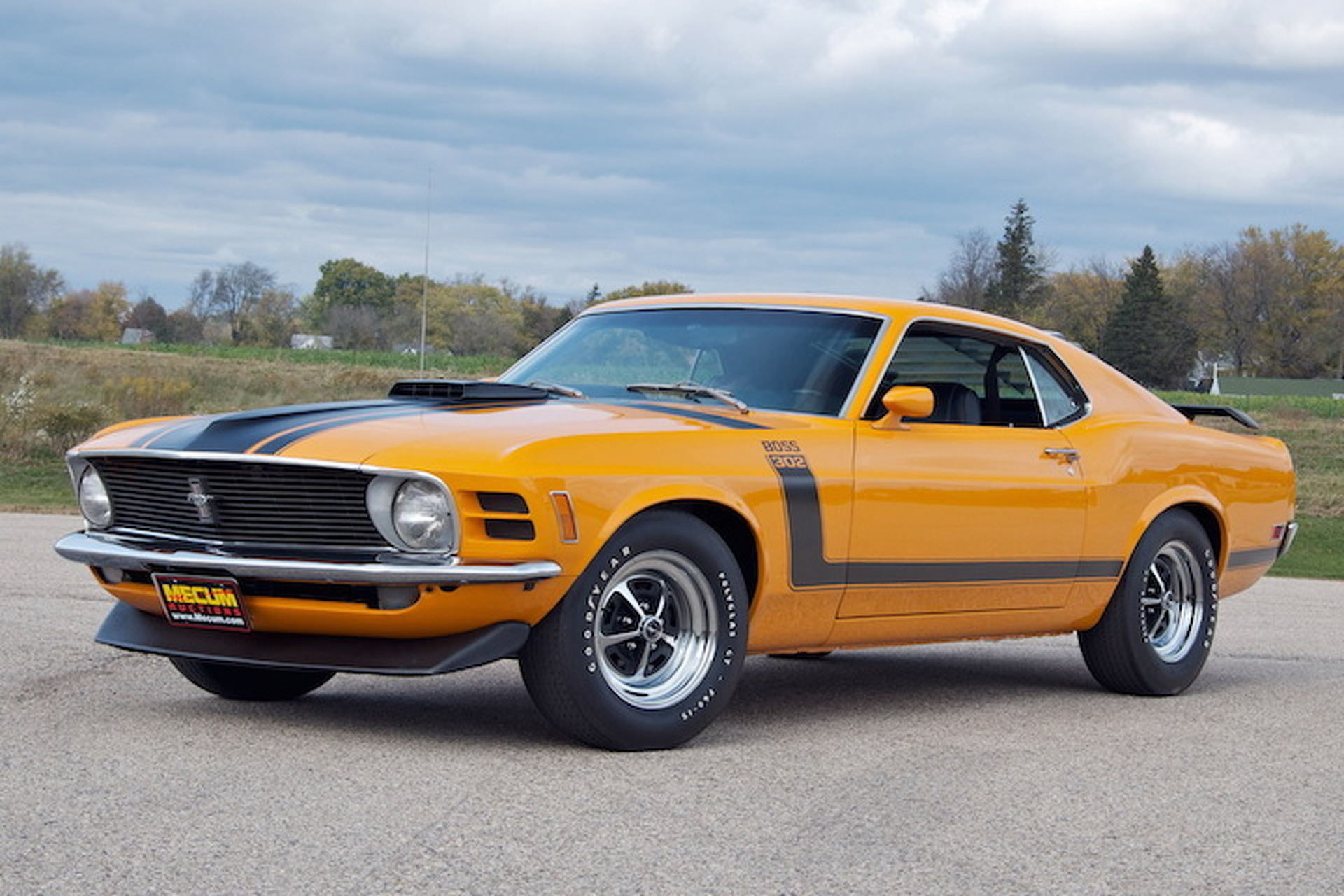 8 great ford mustang boss 302 colors1970 Ford Mustang Boss 302 #6