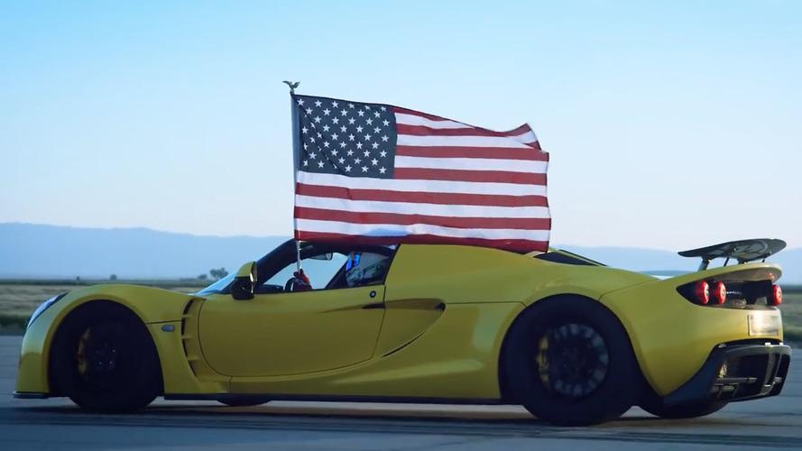 Hennessey shows challenges of Venom GT Spyder's record run