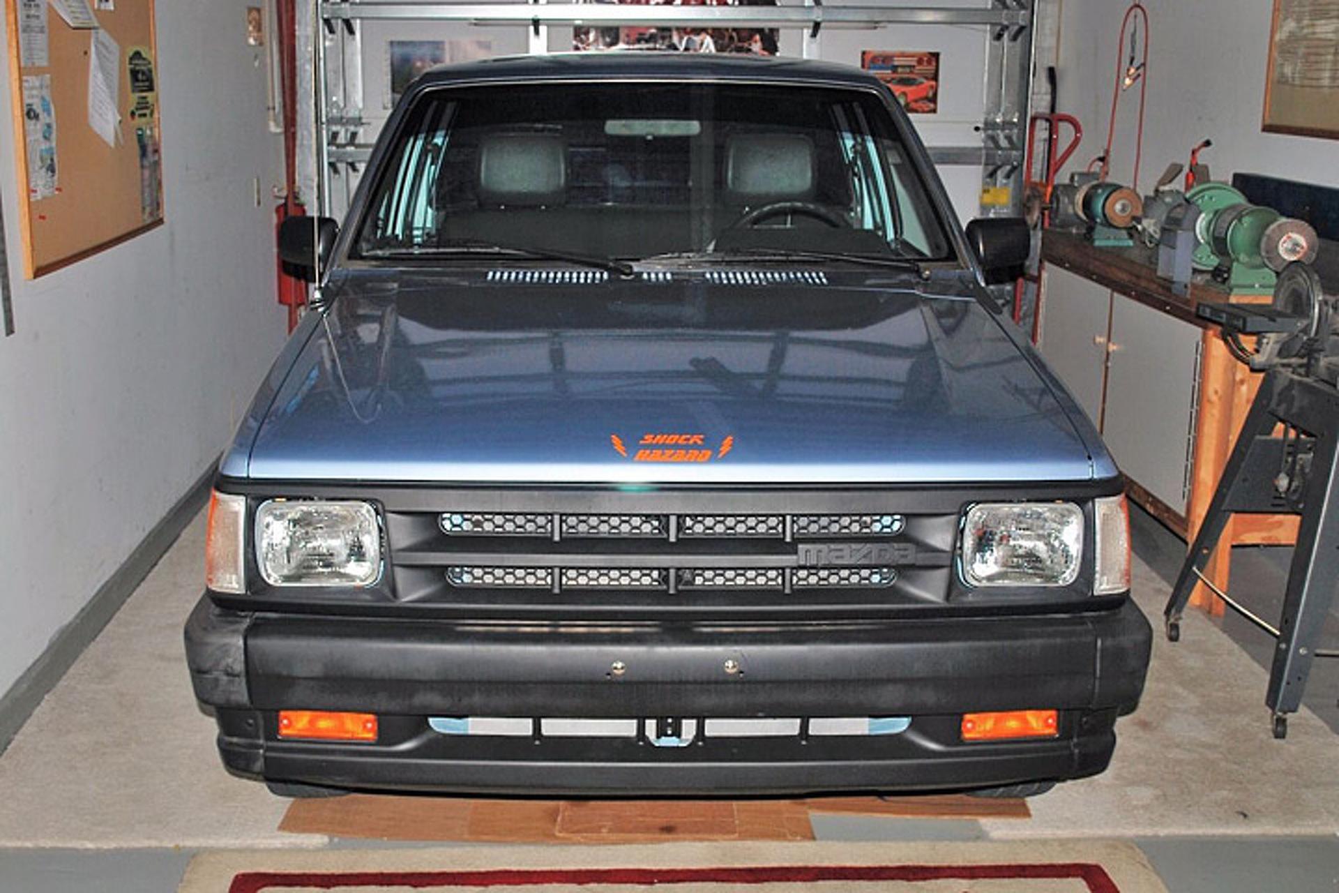 91 mazda truck