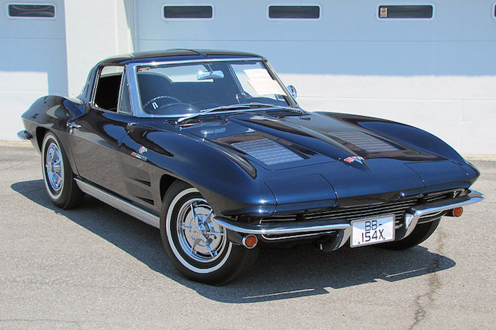The World s ly Right Hand Drive 1963 Corvette Z06 is Still a Mystery