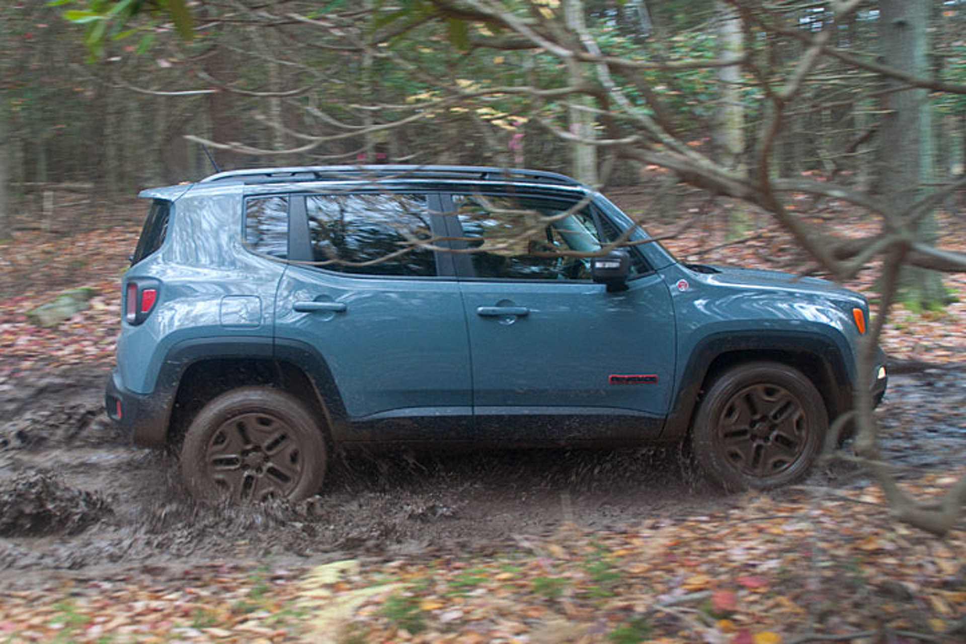 Jeep renegade offroad review