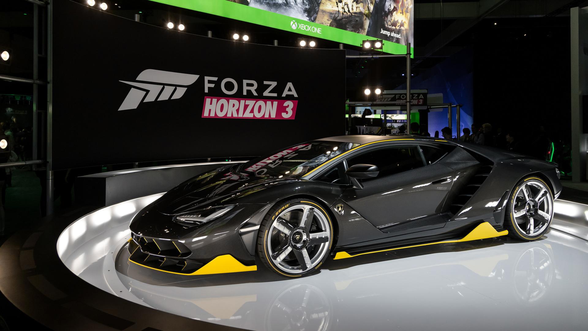 Lamborghini Centenario Debuts In The US We Drive It Forza Horizon 3
