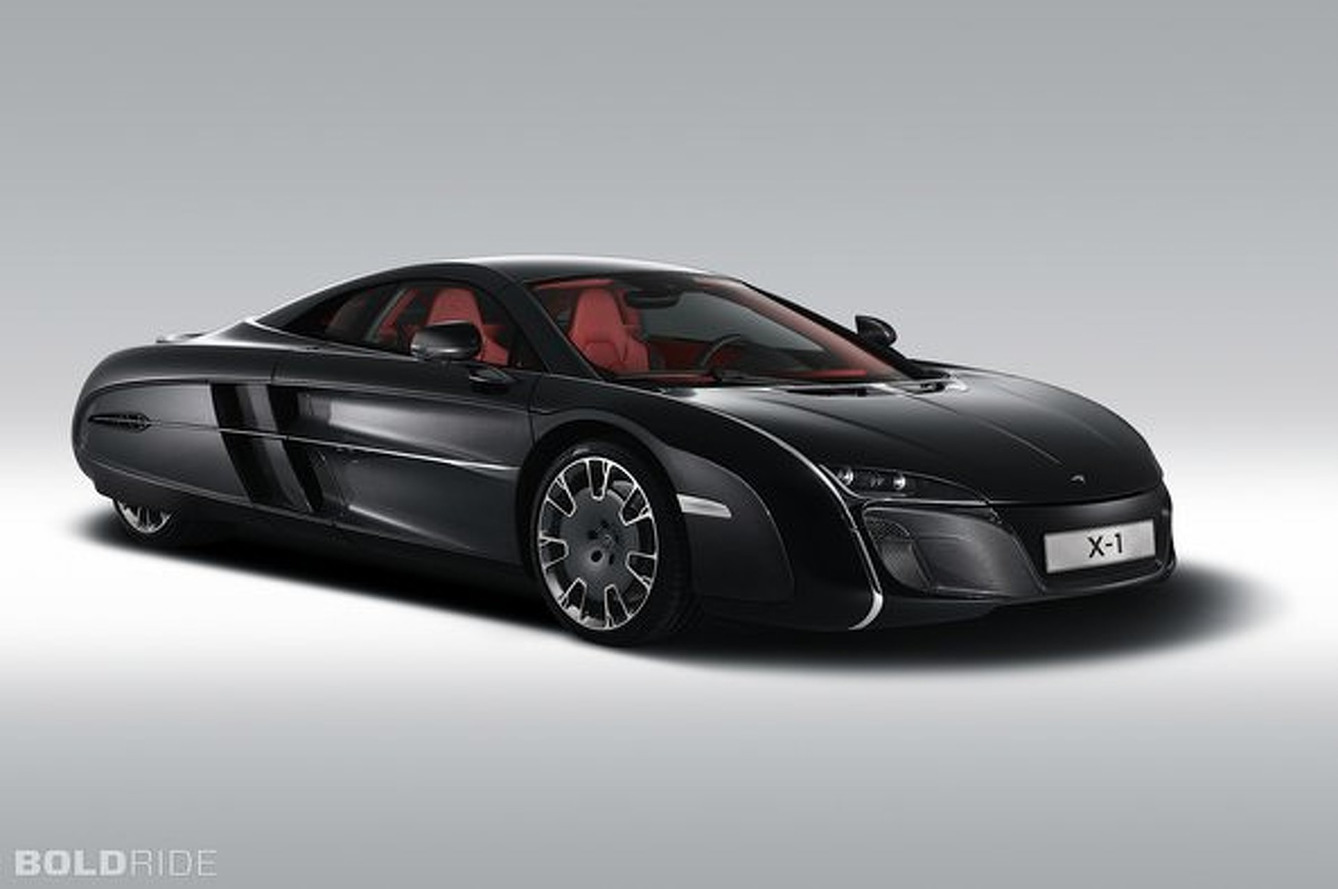 McLaren X-1 Concept is Part Supercar, Part Eggplant