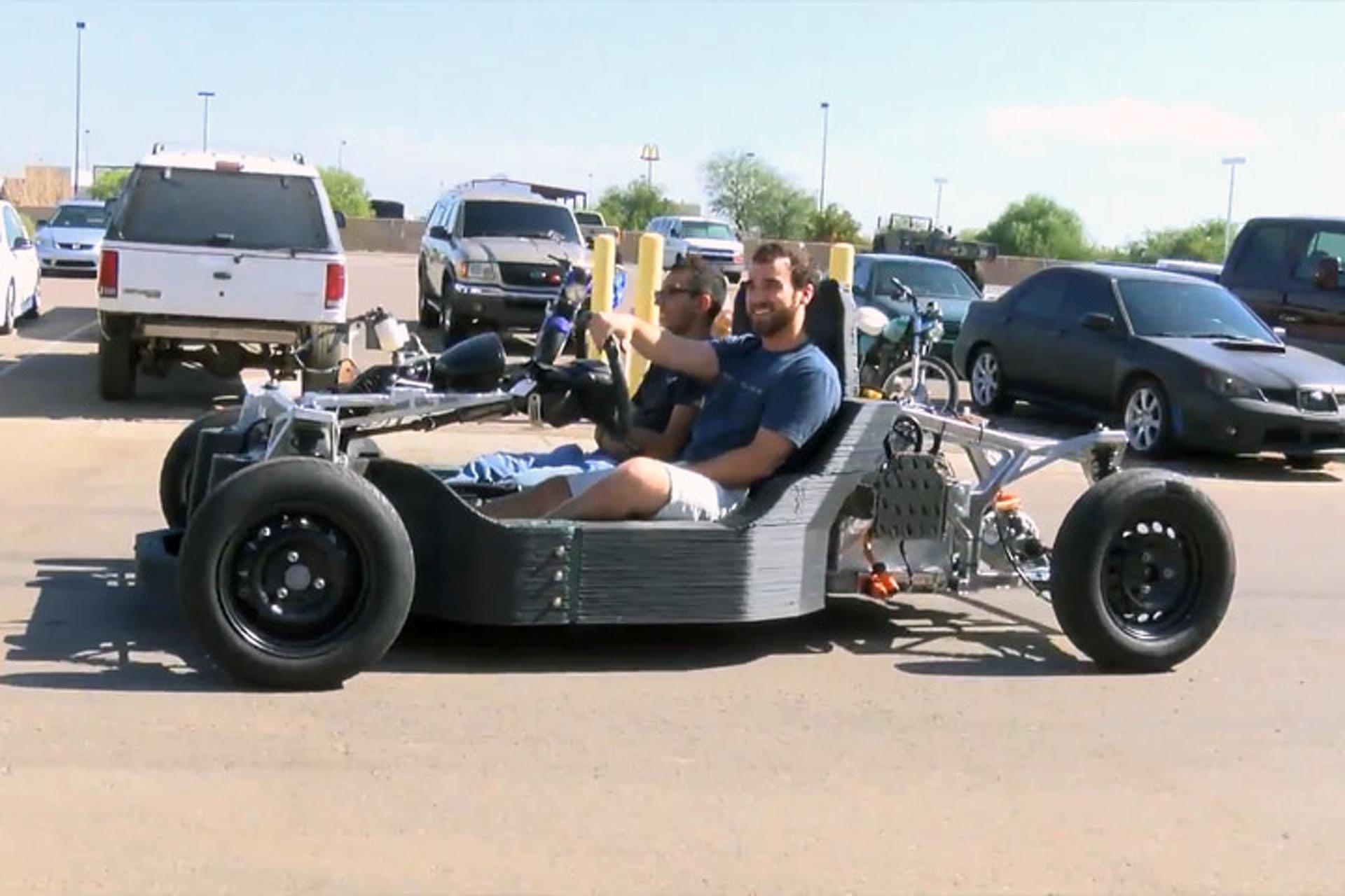 Local Motors Reveals 3D Printed Car Design, Shows Off Test Mule