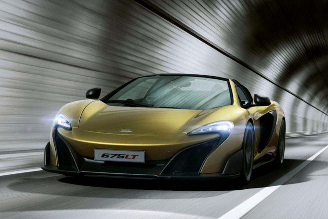 Track Focused McLaren 675LT Spider Sells Out in Just Two Weeks