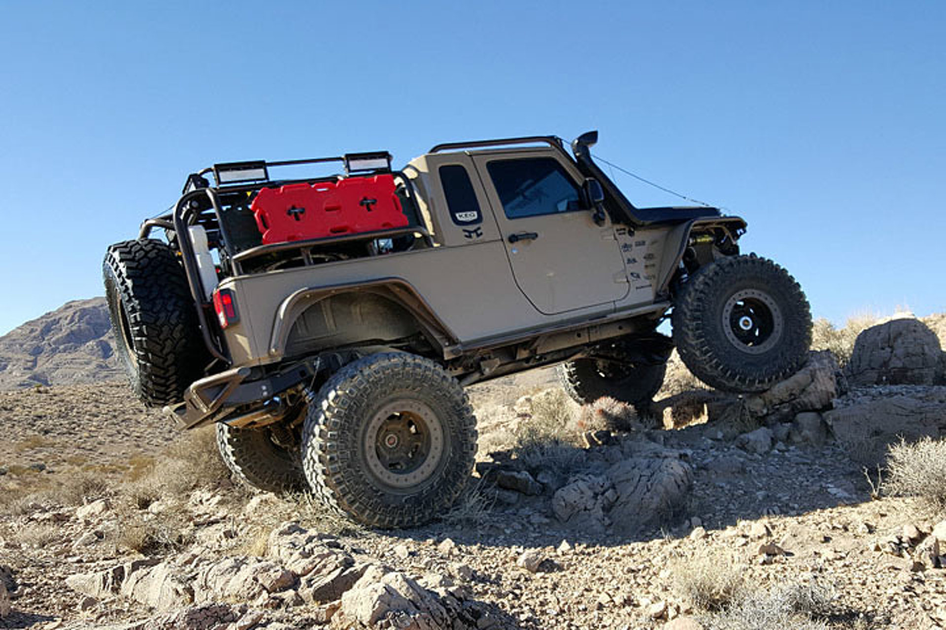 This Ebay Jeep Wrangler Pickup Looks Ready To Rock N Roll
