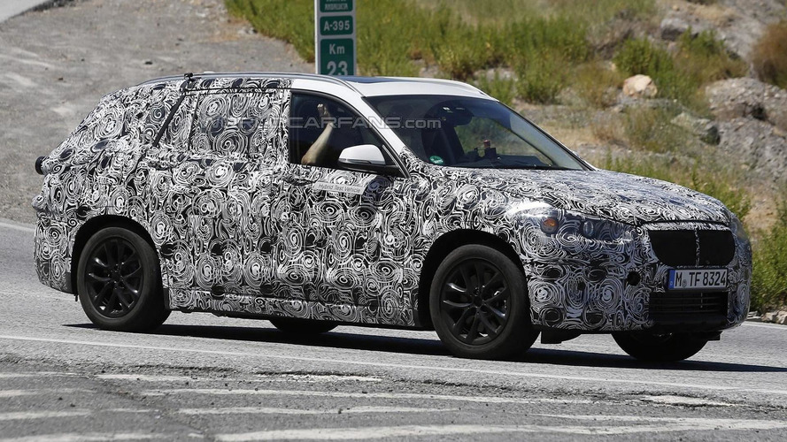 BMW X1 plug-in hybrid spied for the first time