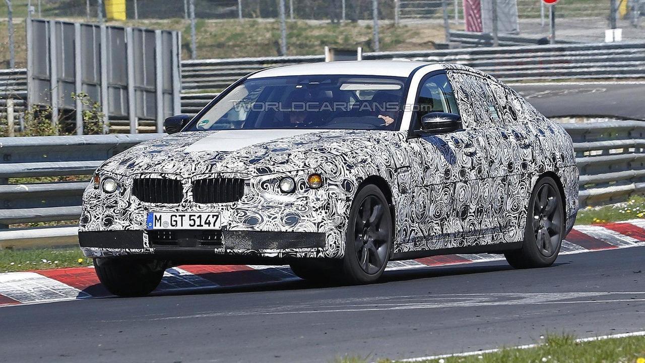 2017 BMW 5-Series prototype spy photo