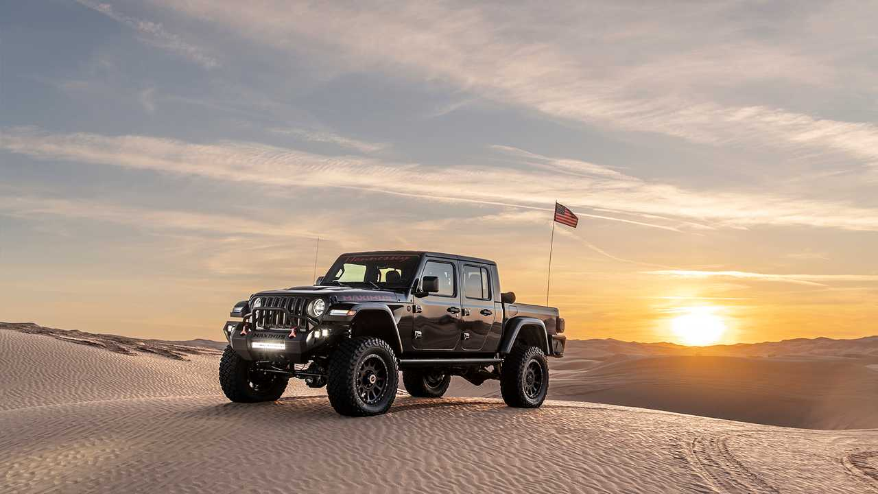 Hennessey Maximus Jeep gladiátor